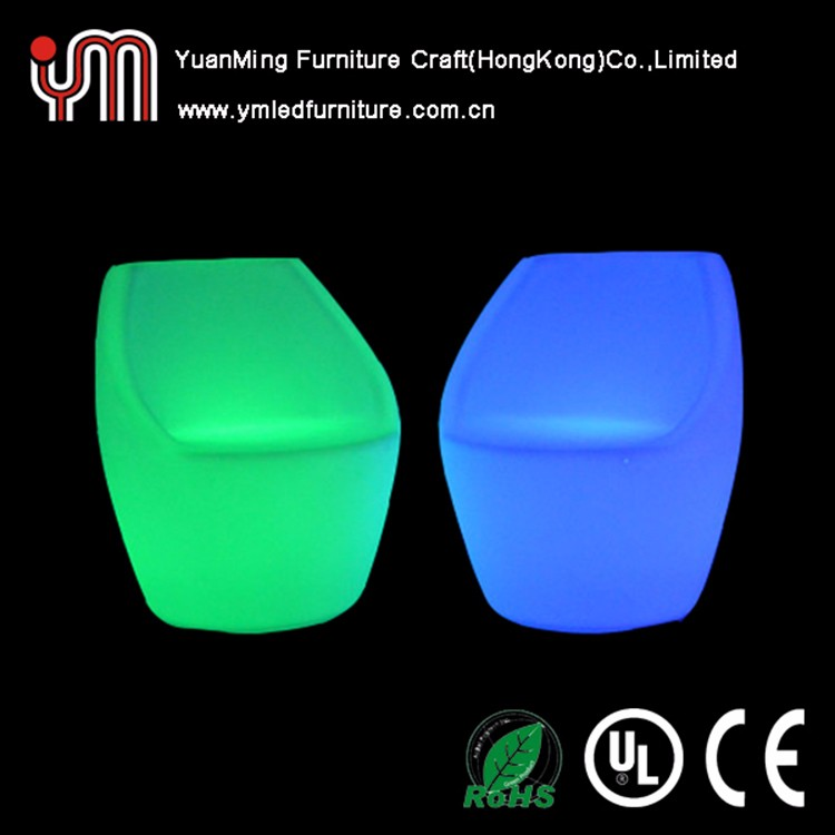 Bar Club LED Illuminated Plastic Furniture