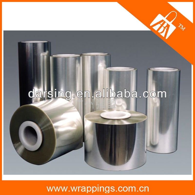 Factory price wholesale metallized aluminum pet film