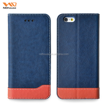 For Apple iphone 7plus leather flip wallet case hot new products in alibaba