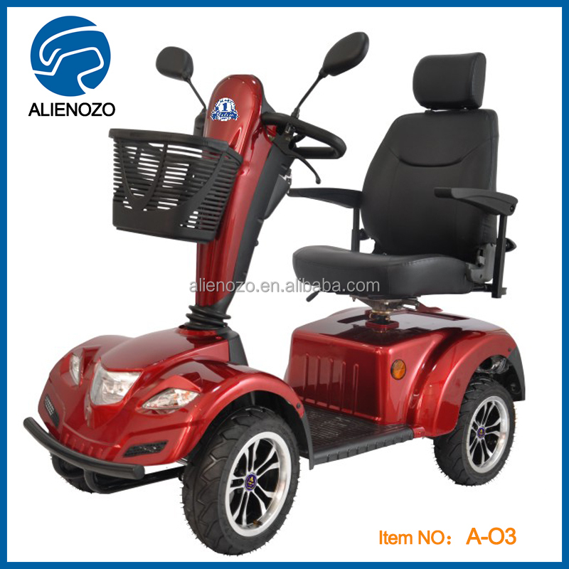 New 4 wheel electric scooter handicapped scooter lithium for Small motor scooters for sale