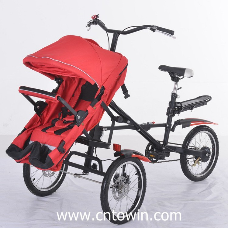 Bicycle For Mom And Baby Walker Twins Stroller Tricycle