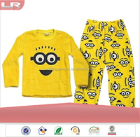 CUSTOM WARM DESPICABLE ME MINION BED PYJAMAS FOR KIDS