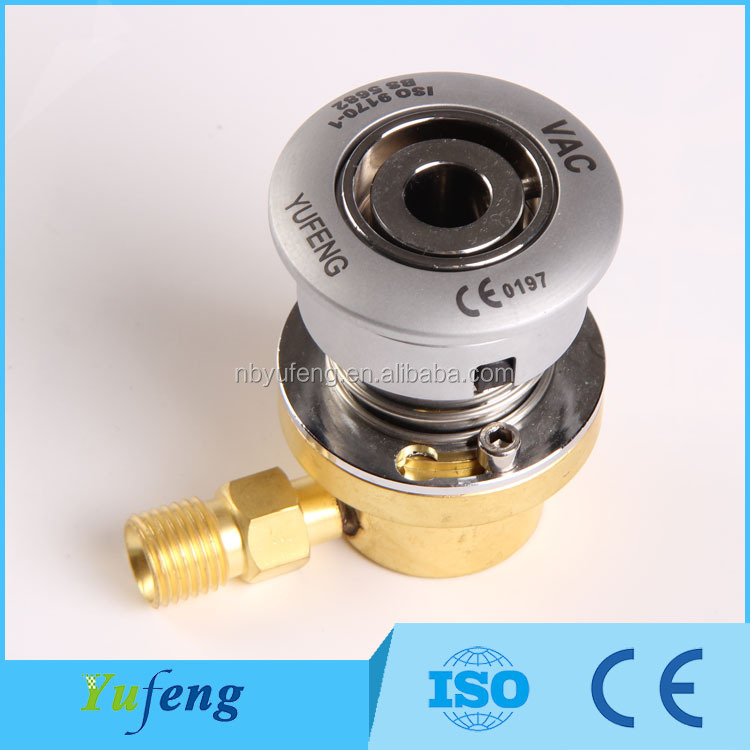 YFBSZD-1C1-VAC Factory supplier British standard hospital medical gas outlet oxygen wall outlet