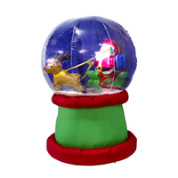 New outdoor Christmas inflatable snow globe