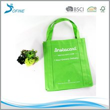 Wholesale custom cheap advertising promotional printed logo PP non-woven shopping tote bag