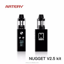 best selling products 2017 new meth vaporizer,Nugget V2.5 kit,electronic cigarette Indonesia