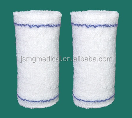 100% Pure Cotton Elastic Crepe Tape Bandage