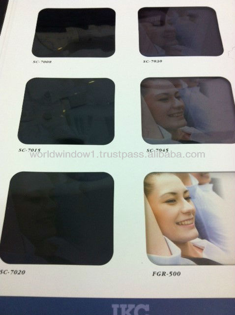 Car window insulation film