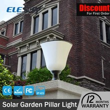 Wholesale pure white 1w integrated solar garden light parts with high quality