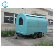 Practical and affordable color available street vendor cart/van for sale in philippines/mobile bar trailers
