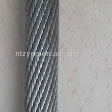 steel aircraft cable lifiting used19x7 non rotating steel wire rope