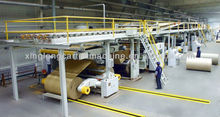 high speed 5 layer corrugated cardboard production line