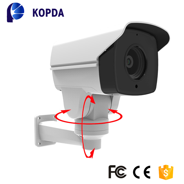 Outdoor IP66 waterproof 10X optical zoom 1080P 2.0MP IP PTZ bullet camera