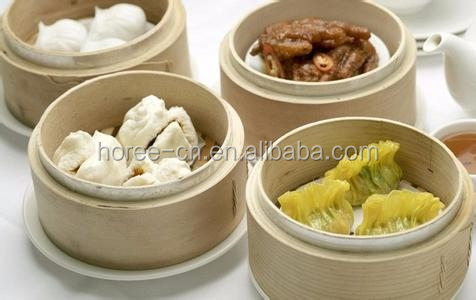 Reusable Commercial Bamboo Steamer with Customized Size