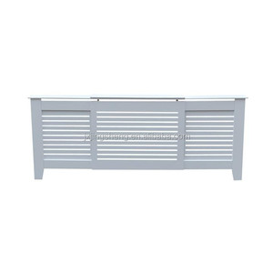 Mdf adjustable painted home radiator cover