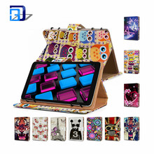 Fashionable color printed stand universal tablet case for ipad case