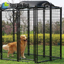 Lucky Dog Chain Link Boxed Dog Kennel, Multiple Sizes Available