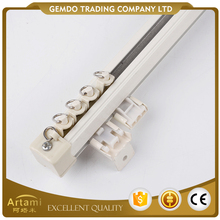 Hot selling wholesale artistic aluminium curtain track runners for shower room
