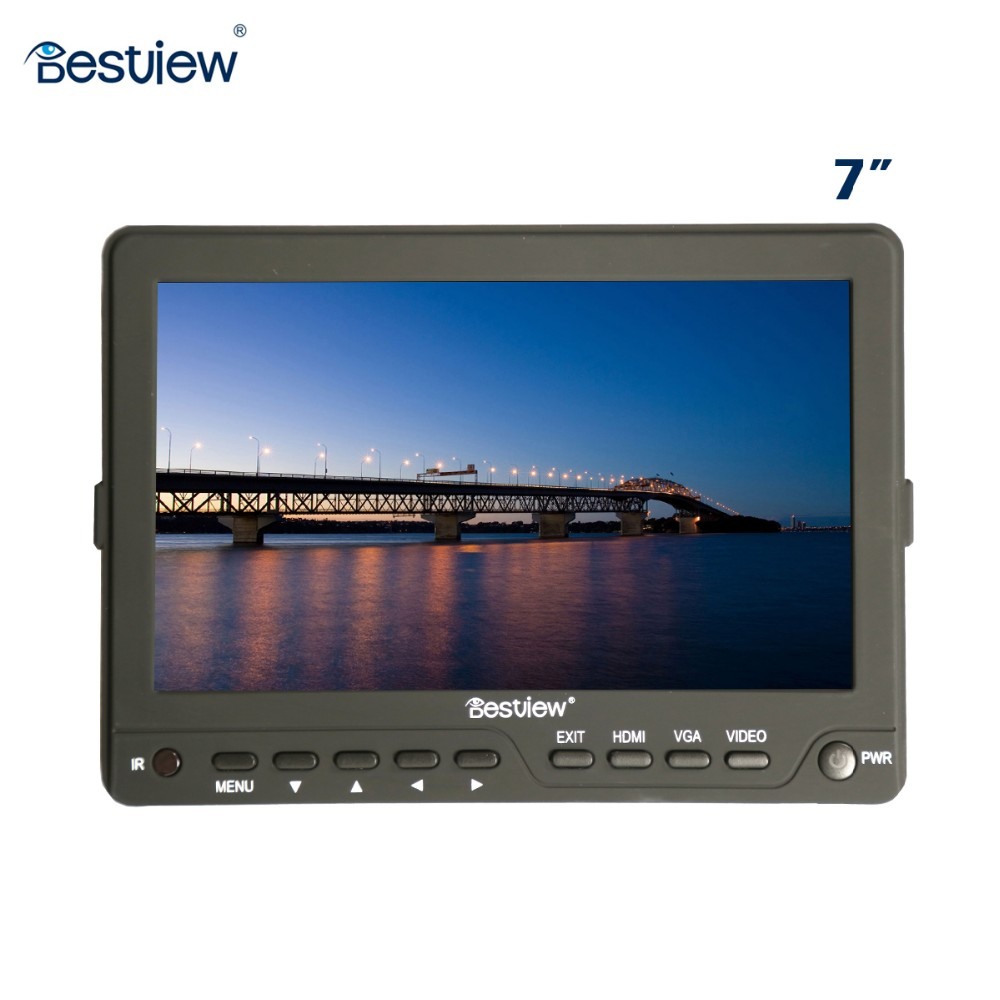 Bestview 5 inch hd field hdmi small lcd monitor ultra slim 16mm