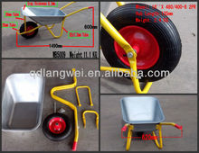 aluminium wheelbarrow