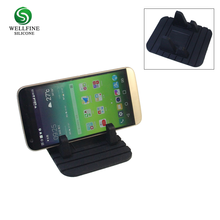 Custom Logo Printing Car Silicone Cell Phone Stand Smart Stand For Mobile Phone