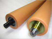 custom high quality cold laminator rubber roller at low price