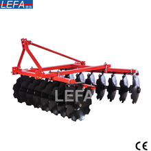 Multifunctional farm hand walking tractor disk plow