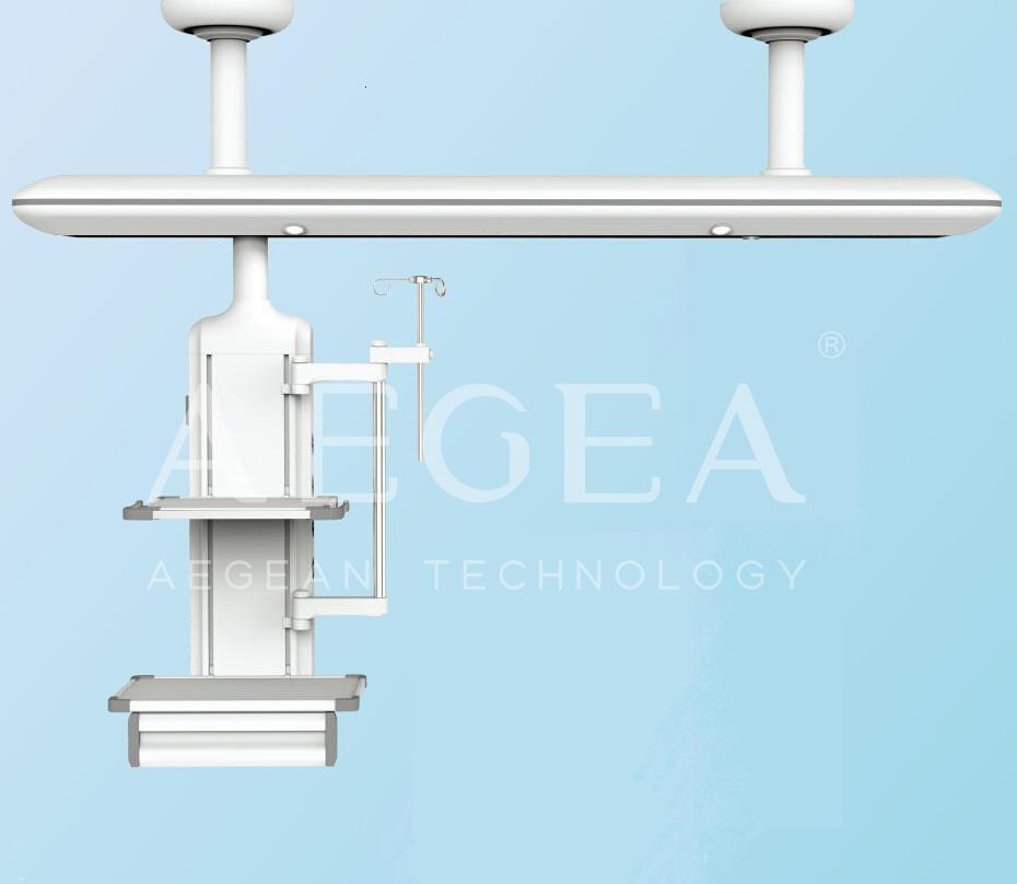 Icu ceiling mounted system hospital gas equipment medical surgical pendant arms for sale