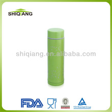 Colored sublimation food grade 350ml double wall insulated stainless steel vacuum thermo sports water bottle