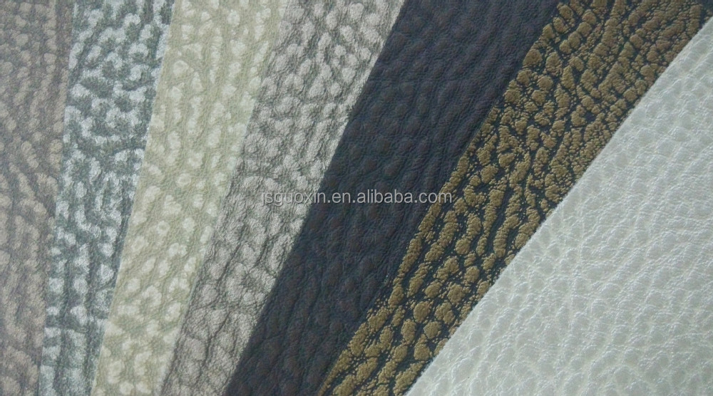 0.8mm pattern embossed pvc synthetic leather