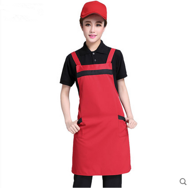 volunteer working aprons for promotion gift