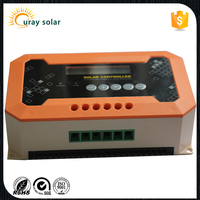 LCD display low price low voltage 30a li-ion charge controller solar 12v