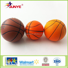 Factory wholesale promotional custom Logo printed pu ball pu basketball
