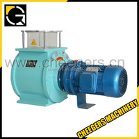 Rotary airlock valve/Rotary discharge valve for calcium fluoride powder conveying