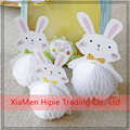 Rabbit for Easter Decorations Wholesale Tissue Paper Honeycomb Balls
