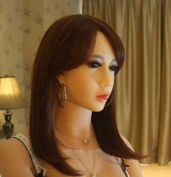 2015 new real oral silicone sex dolls head
