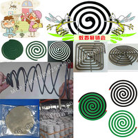 Non Pullution Mosquito coil paper mosquito coil making machine