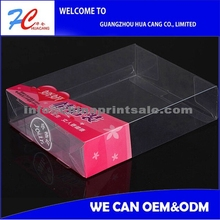 China PP PET PVC Packaging Clear Plastic /Supplier Clear Pvc Hard Plastic Electronic Cosmetic Packaging Box