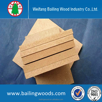 various kinds of sizes good quality MDF (Raw MDF) for decoration