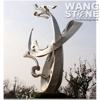 Modern Large Stainless Steel Flying Dragon