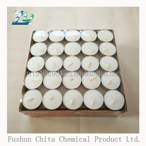 wholesale paraffin wax 50 pcs tealight candle for festival activity