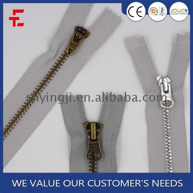 China Made close end metal zipper shipper coupon code
