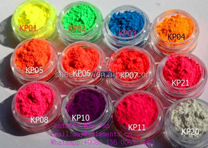 Sheenbow Fluorescent Neon Pigment for Nail Art