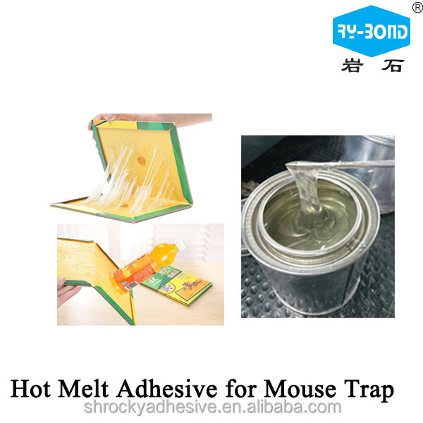 ROCKY free sample hot melt mouse rat trap adhesive glue for rat board