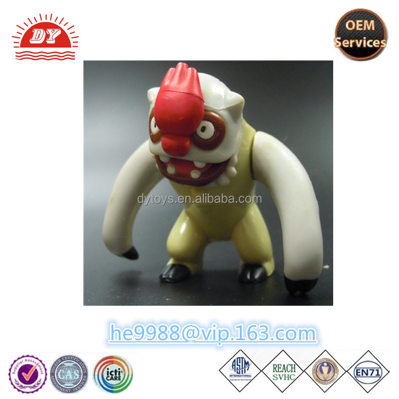 custom plastic cute famous cartoon game hot sell fire-breathing monster toy