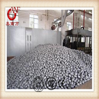Middle chrome cast grinding media balls with difference size from China factory