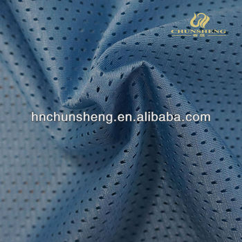 100% polyester warp knitting mesh fabric