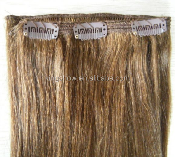 factory price malaysian hair 30 inch human hair extensions clip in