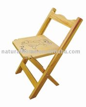 Wooden Child Chair (KT5104ACH-W)