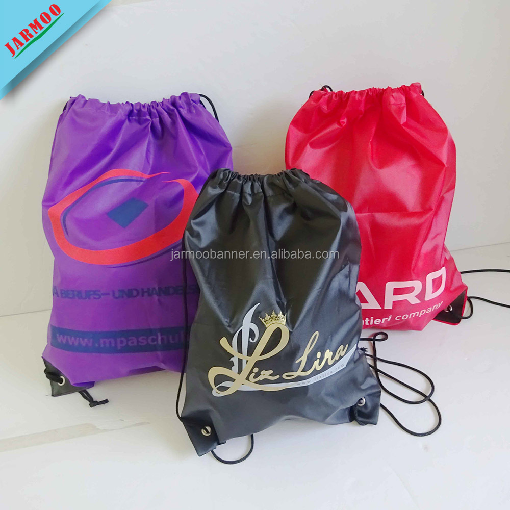 Wholesale Reusable Digital Printing Customized Sport Gym Sacks